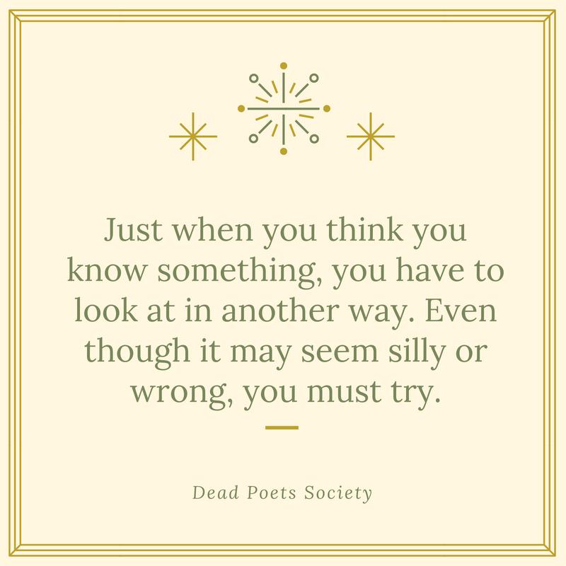 Dead Poets Society Quote 4 Quotereel