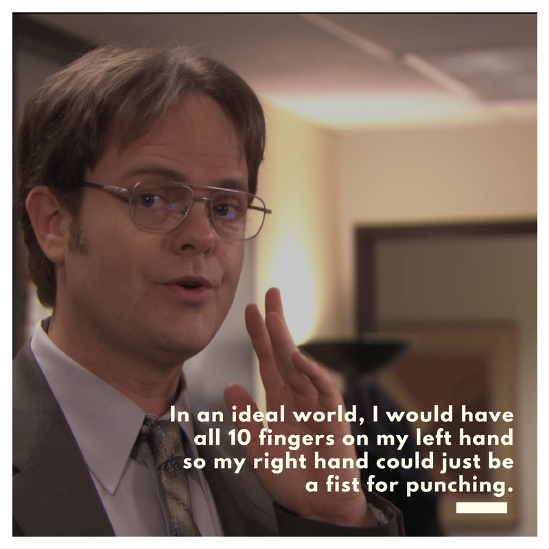 dwight schrute quotes text amp image quotes quotereel