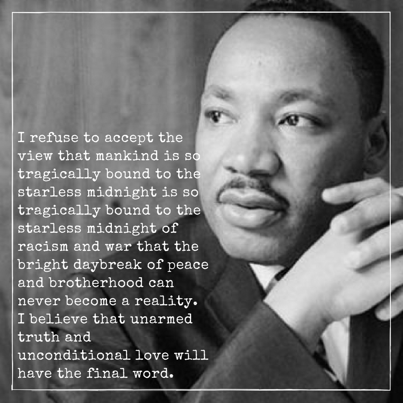 Famous Martin Luther King Quotes: Martin Luther King Quote 11