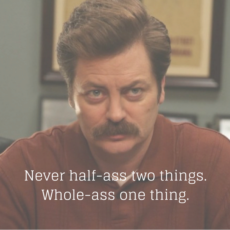 Ron Swanson Quotes   Text & Image Quotes   QuoteReel