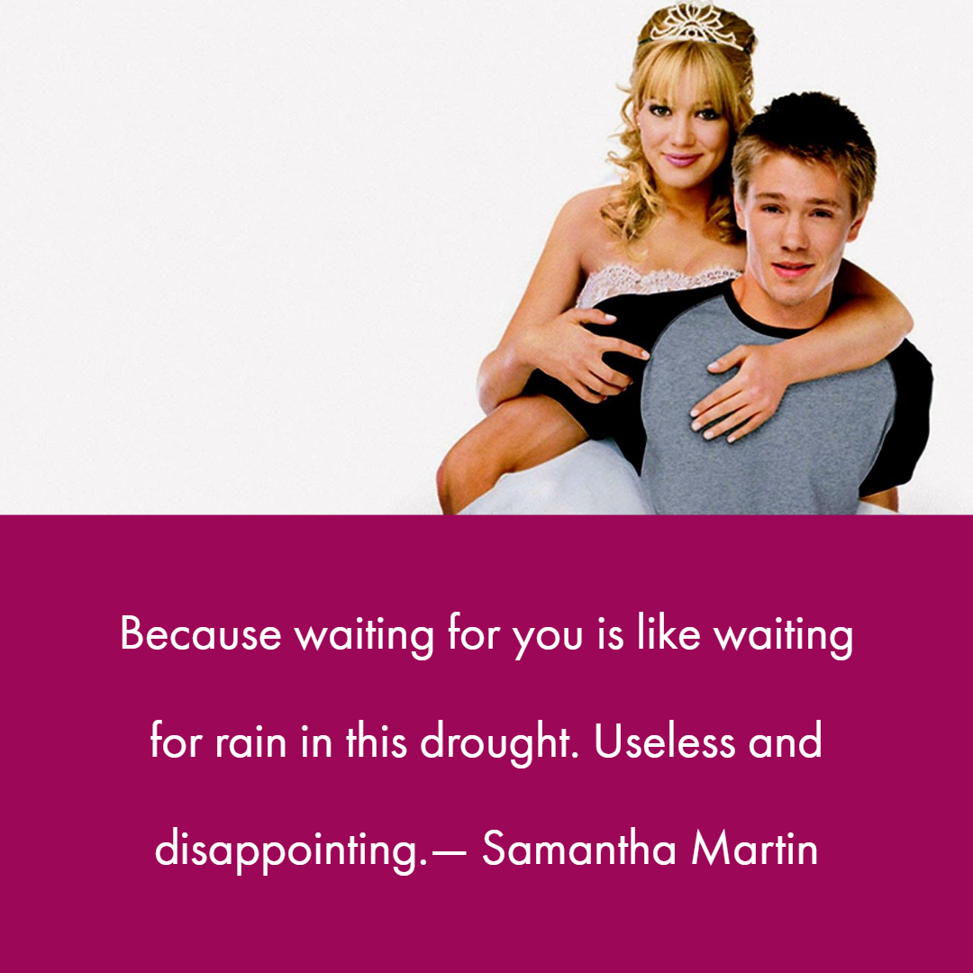 A Cinderella Story Quotes 1 | QuoteReel