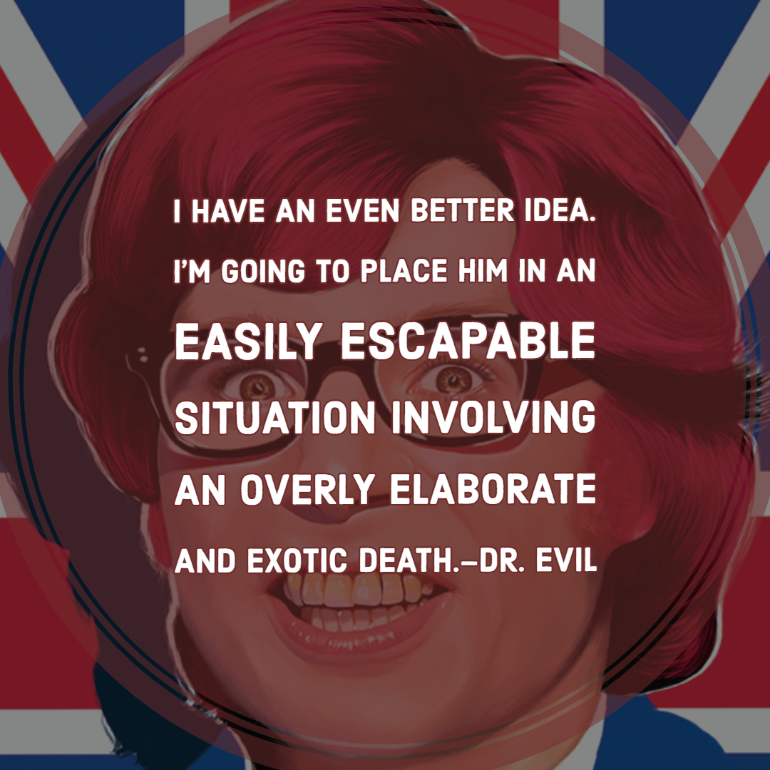 Austin Powers Quotes   Text & Image Quotes   QuoteReel