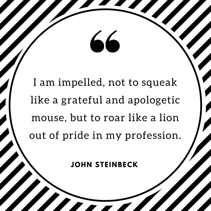 John Steinbeck Quotes | Text & Image Quotes | QuoteReel