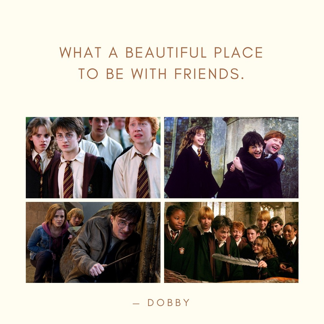 harry potter friendship quotes quotereel
