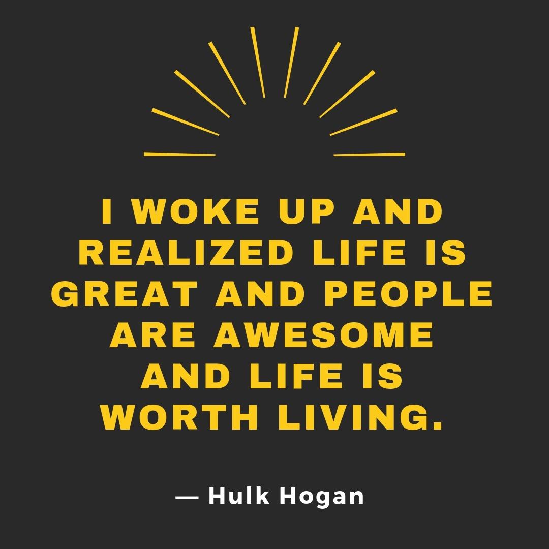 Hulk Hogan Ordtak