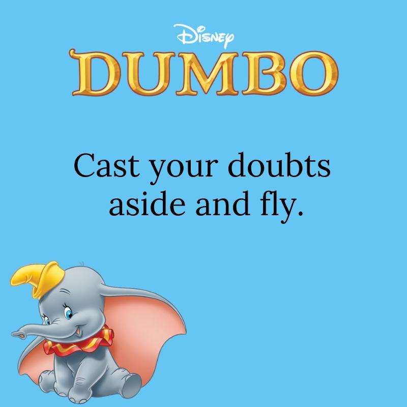 Dumbo Quotes 60 QuoteReel Extraordinary Dumbo Quotes