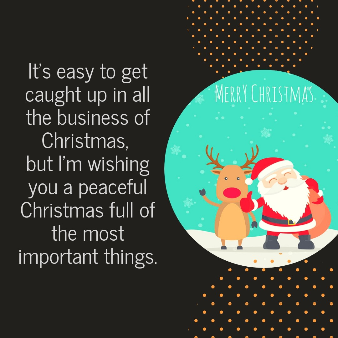 Christmas Card Messages 1 | QuoteReel