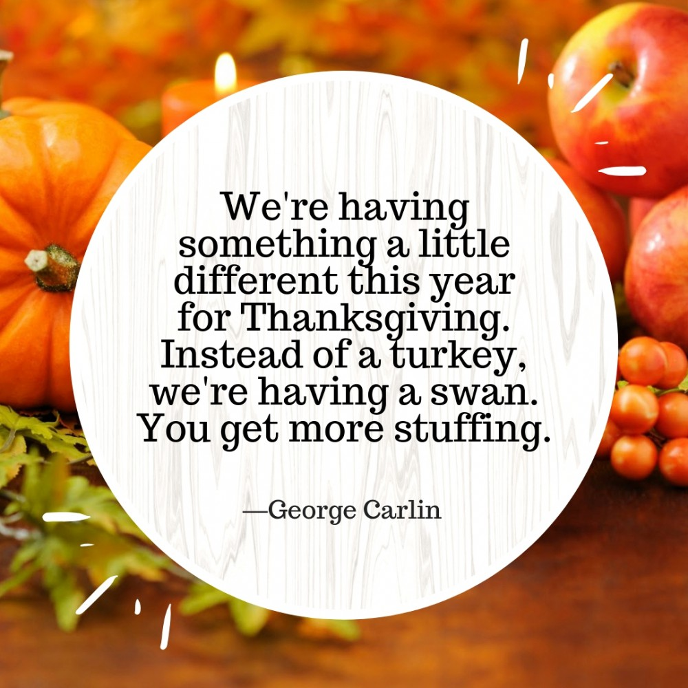 Funny Thanksgiving Quotes 10 | QuoteReel