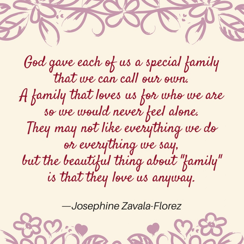 Poems about Family | Text & Image Quotes | QuoteReel