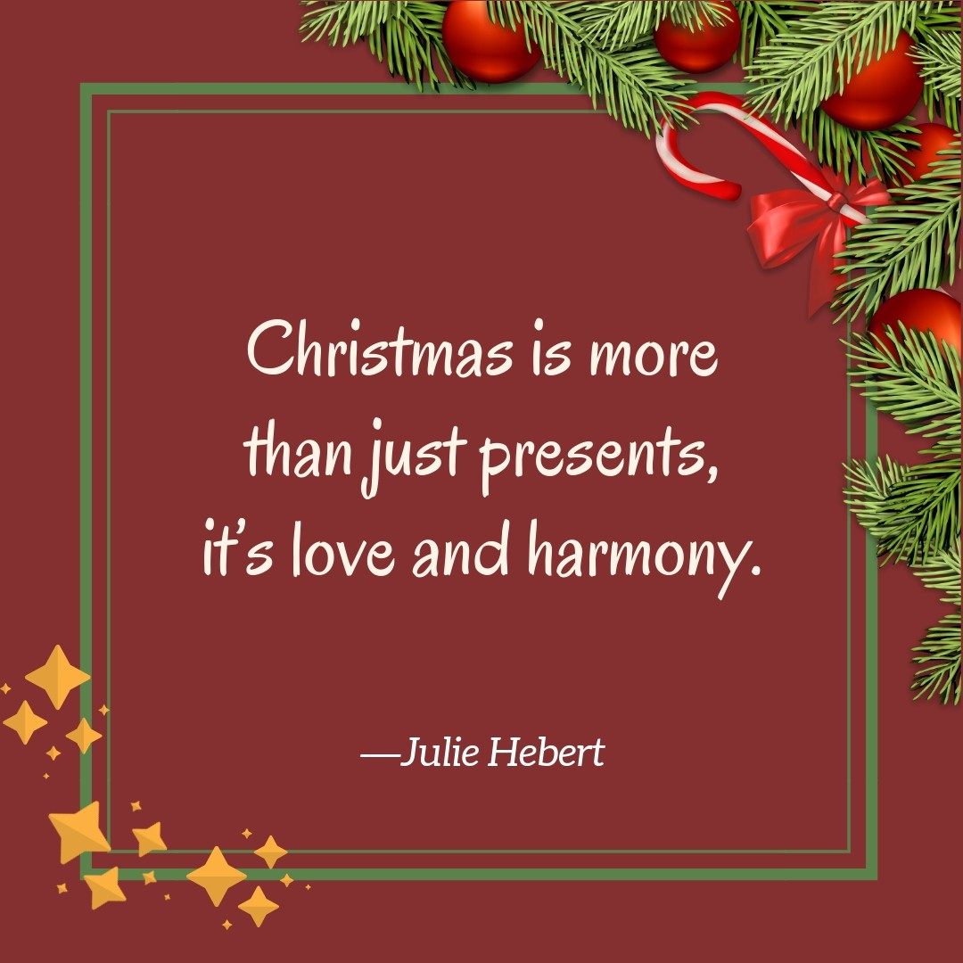 Short Christmas Quotes | Text & Image Quotes | QuoteReel