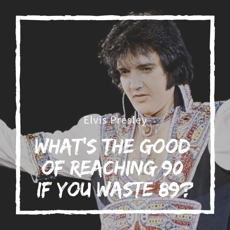Elvis Presley Quotes Archives QuoteReel Mesmerizing Elvis Presley Quotes
