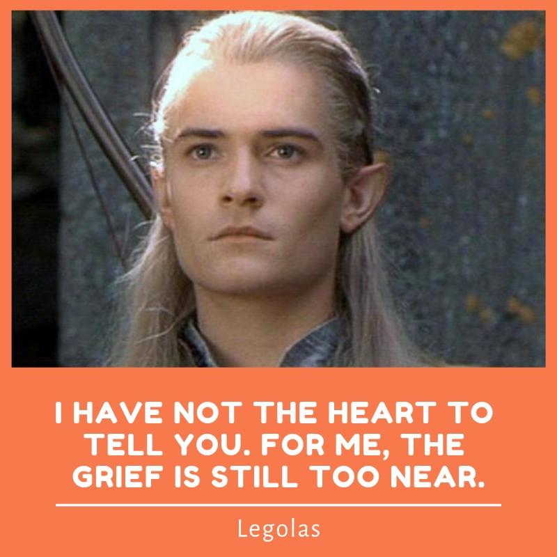 Legolas Quotes | Text & Image Quotes | QuoteReel