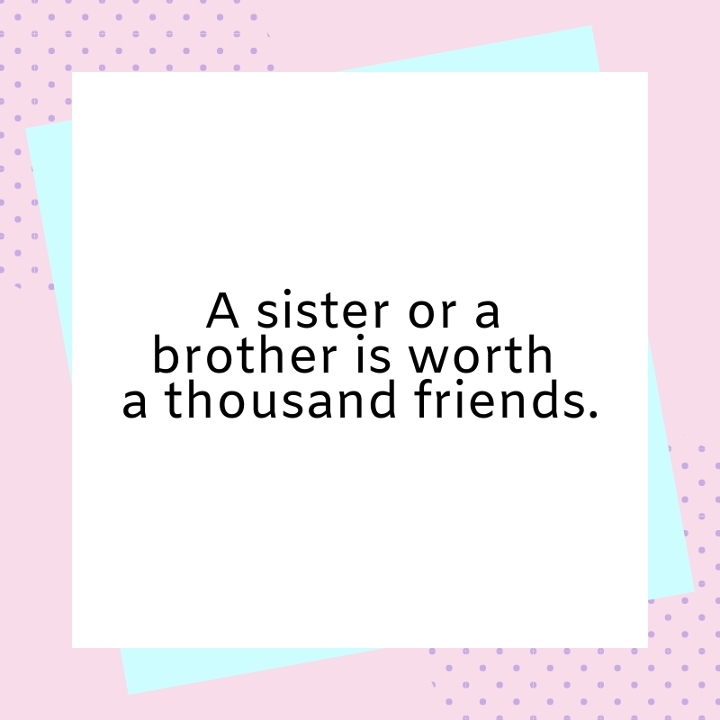 Brother and Sister Quotes | Text & Image Quotes | QuoteReel
