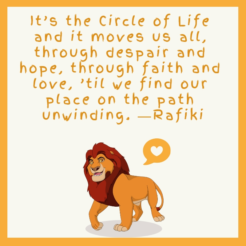 Lion King Quotes | Text & Image Quotes | QuoteReel
